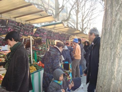 Bastille farmer's market