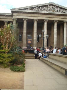 Outside the British Museum