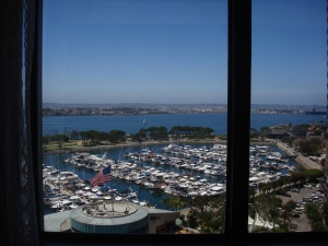 Marriott Marquis San Diego View