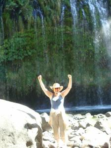 Liz Hamill Mossbrae Falls