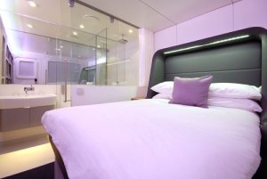 Premium cabin Yotel Heathrow London